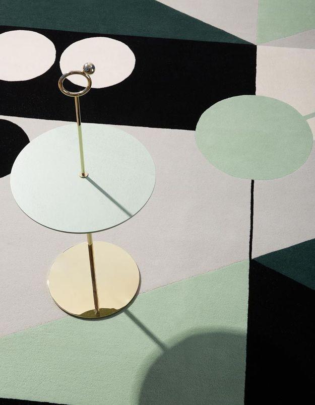 Tapis pastel Maison Dada