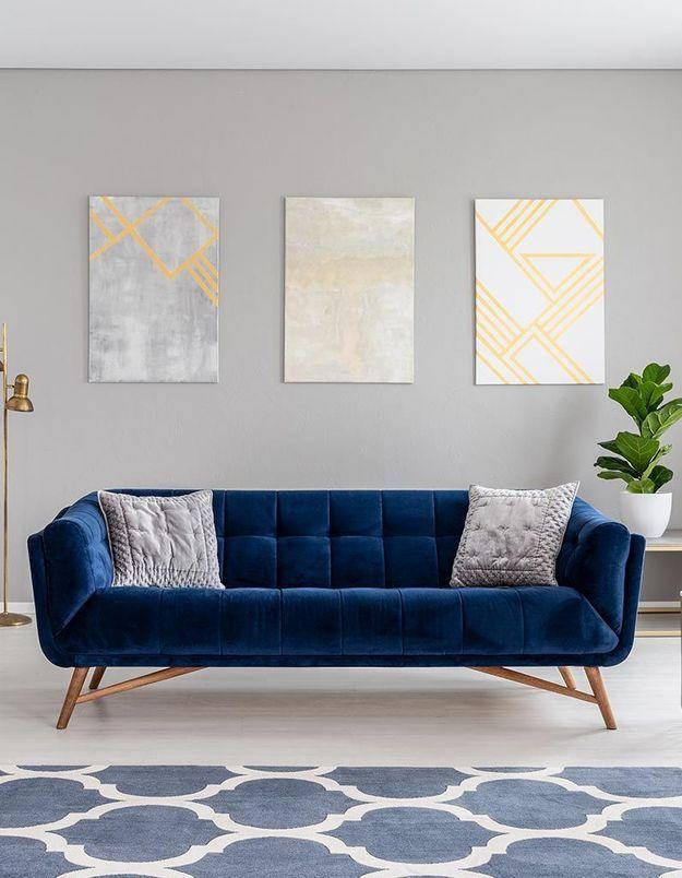 peinture murale les tendances 2019 elle d coration. Black Bedroom Furniture Sets. Home Design Ideas