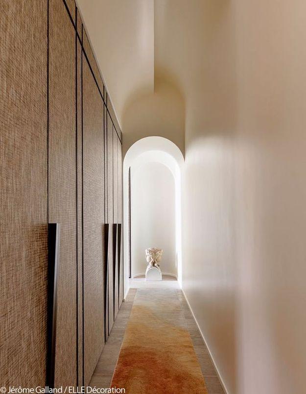Un couloir très design