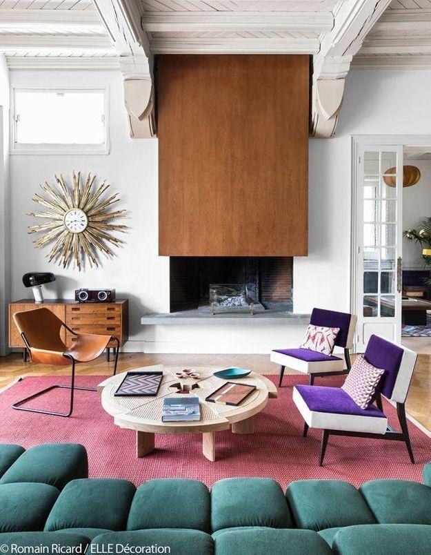 Le grand salon coloré