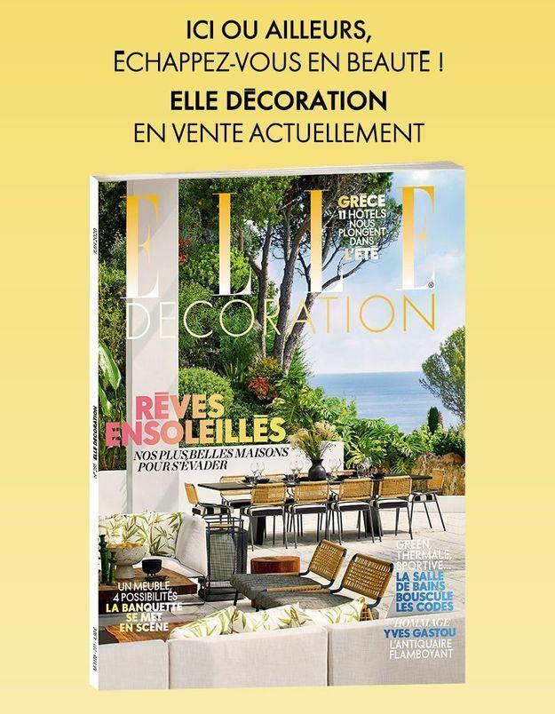 Prenez une bouffée d'air frais avec votre nouveau magazine Elle Décoration
