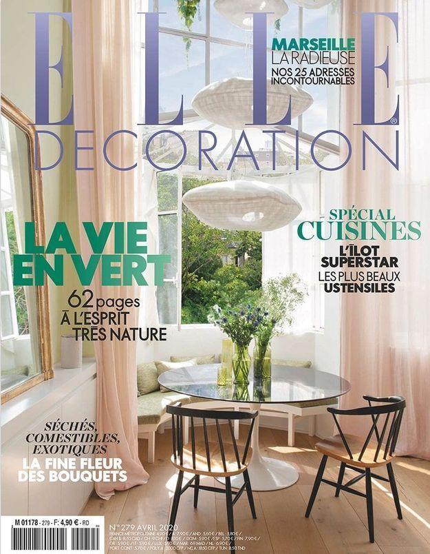 Retrouvez votre magazine ELLE Déco sans bouger de chez vous