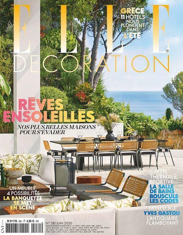 Retrouvez votre magazine ELLE Déco chez vous