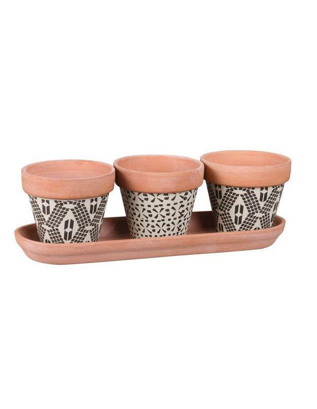 Cache-pots en terre cuite Maisons du Monde