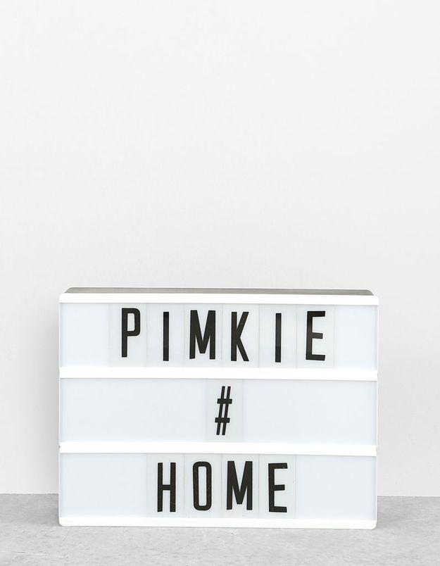 Box lumineuse Pimkie Home