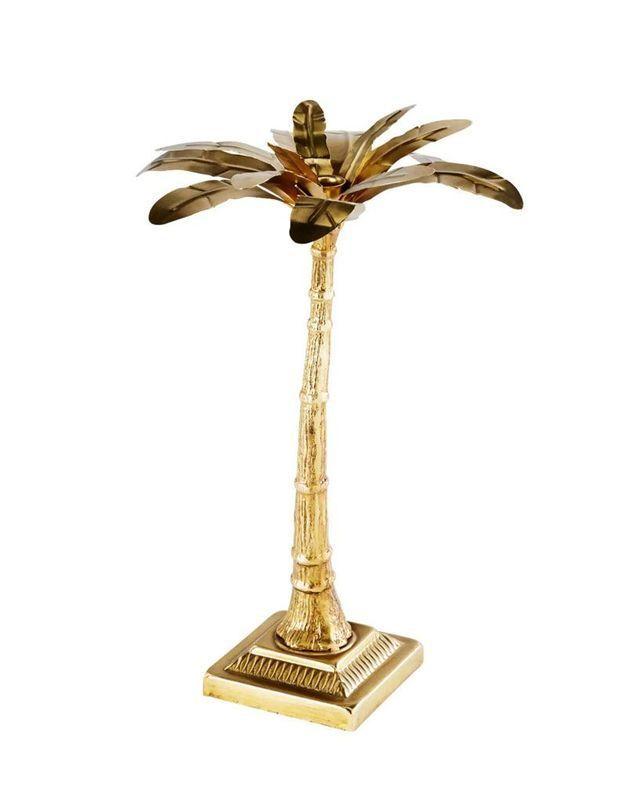 Bougeoir palmier soldé Maisons du Monde