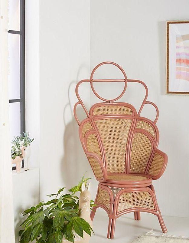 Un fauteuil soldé Anthropologie