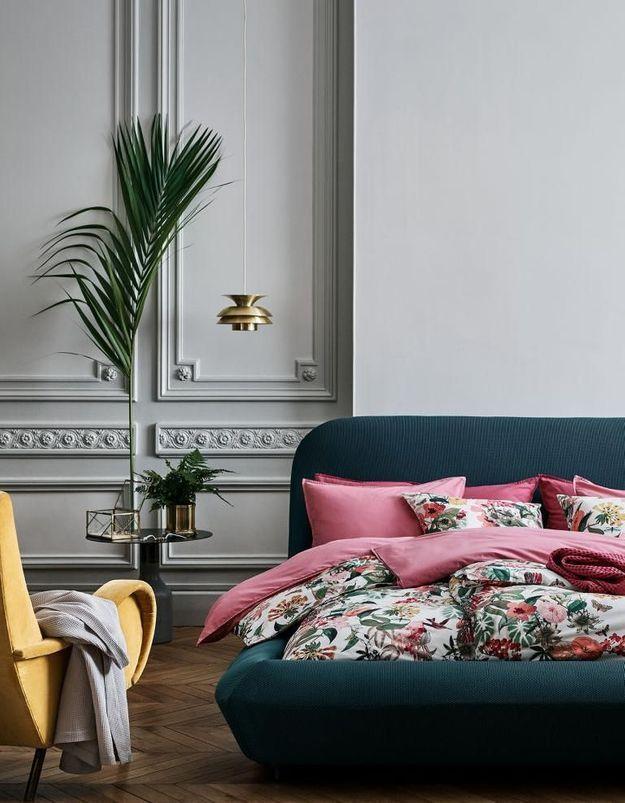 Une parure de lit soldée H&M Home