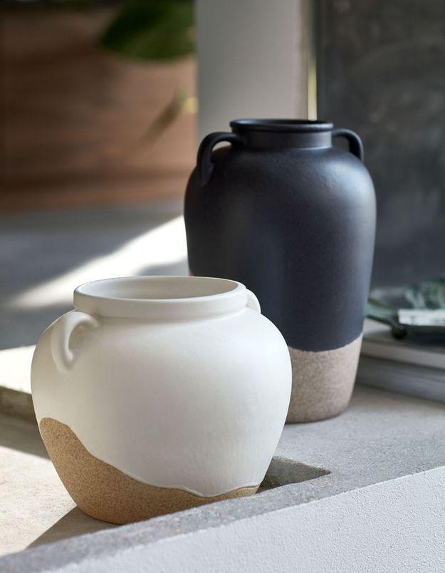 Vase en grès soldé H&M Home