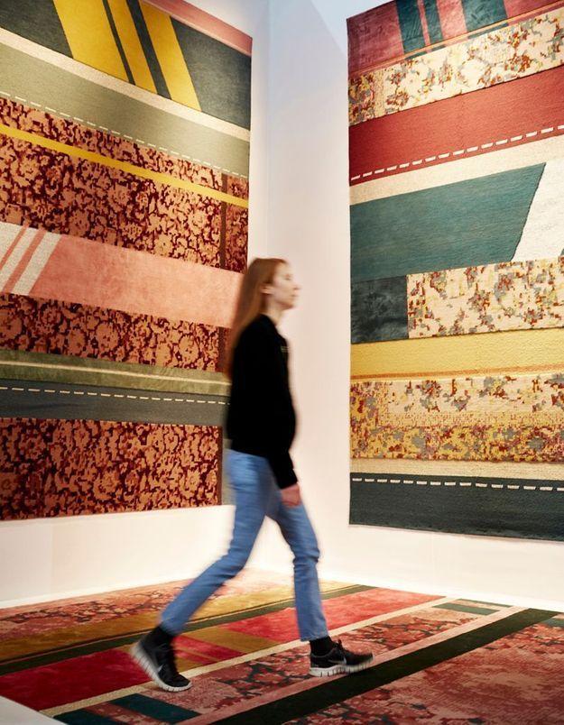 Le patchwork au tapis