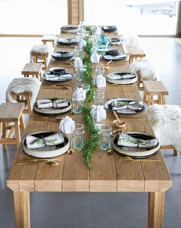 L'art de la table façon déjeuner à la montagne chez AM.PM