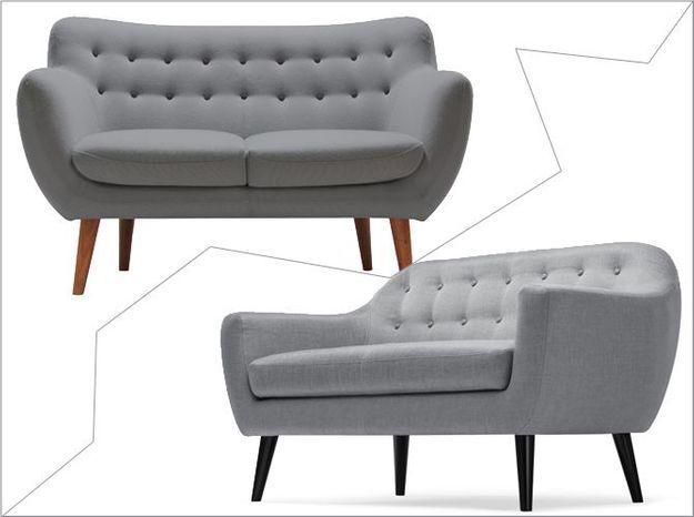 1 objet, 2 budgets : le canapé Sentou versus le canapé Made