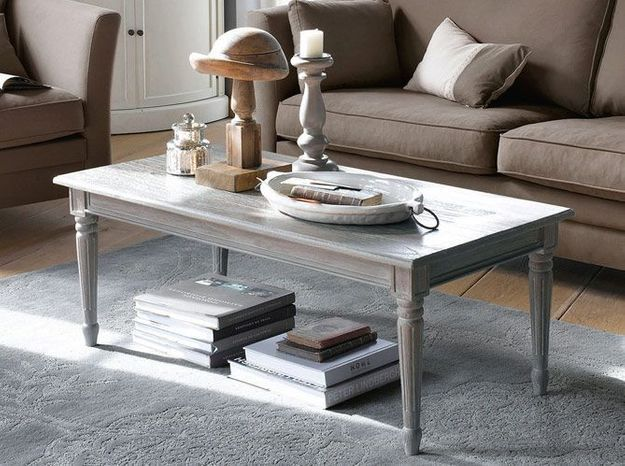 Deco campagne table basse