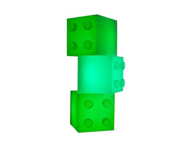 Cube lumineux fluo