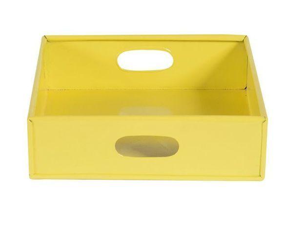Deco jaune plateau