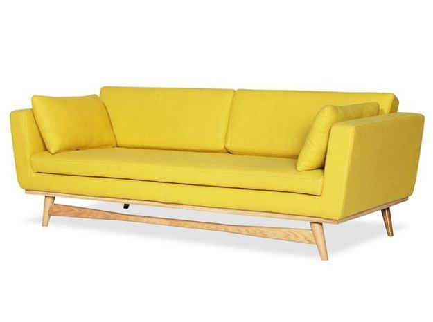 Deco jaune canape