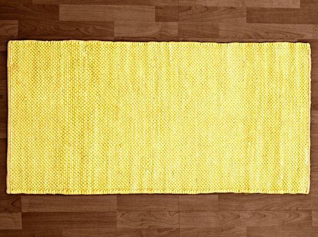 Deco jaune tapis