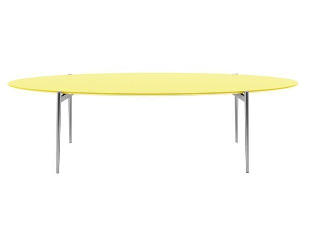 Deco jaune table basse