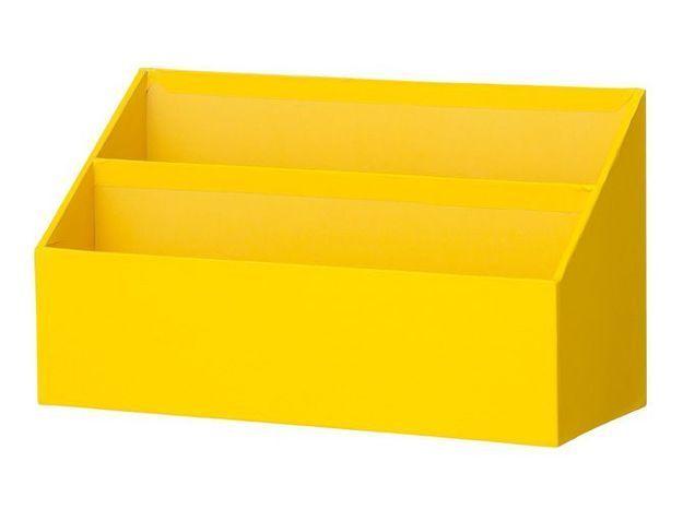 Deco jaune bac courrier