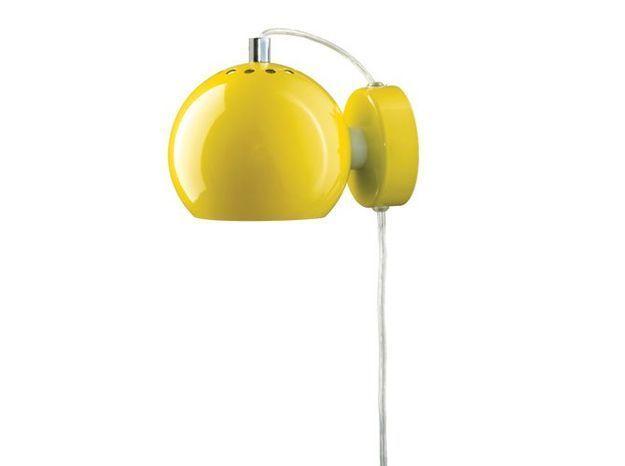 Deco jaune applique