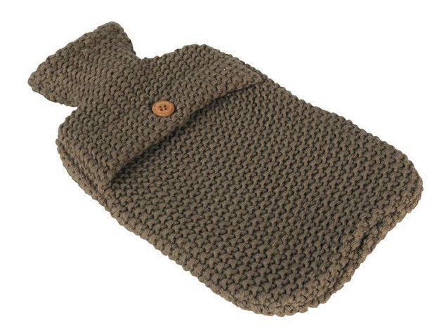 Bouillotte tricot botanic