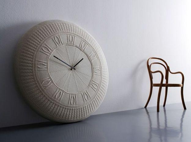 Horloge Gomitolo laine