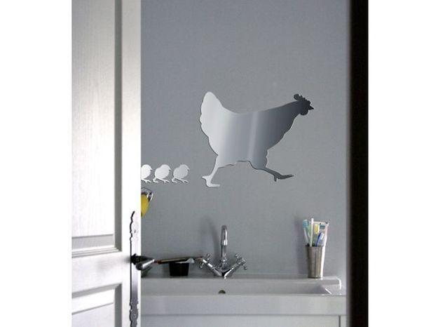 Deco poule miroir