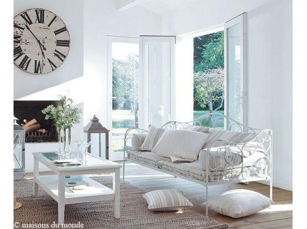 salon blanc campagne