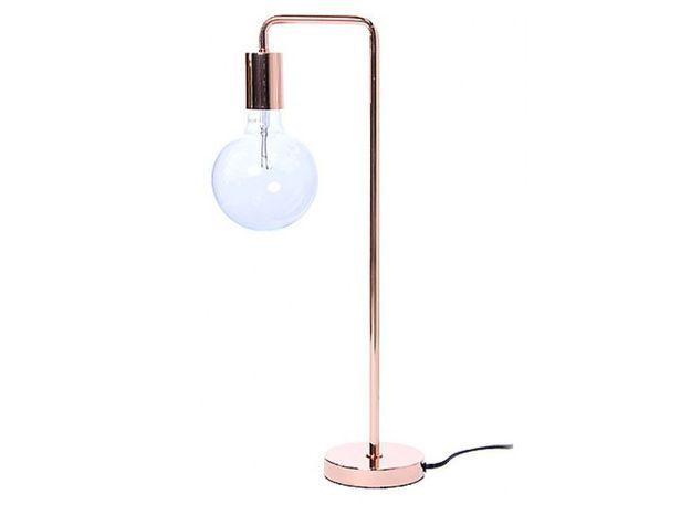 Lampe de table rose gold