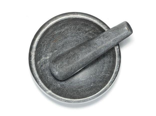 Un mortier en marbre pour une touche kinfolk