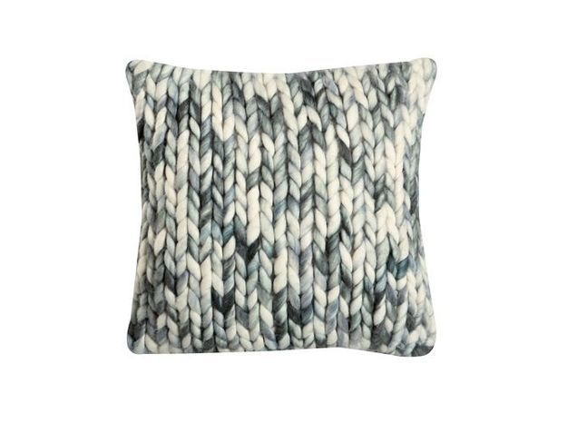 Coussin laine cocooning