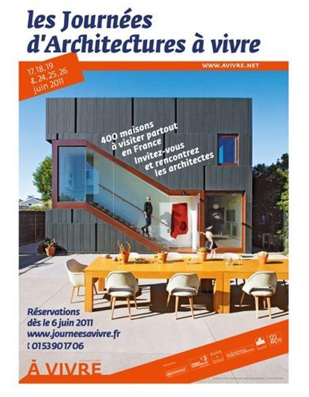 Dès ce week-end, visitez des maisons d'architecte !