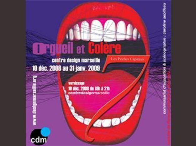 Exposition Orgueil & Colère, Les 7 péchés capitaux au Centre Design de Marseille