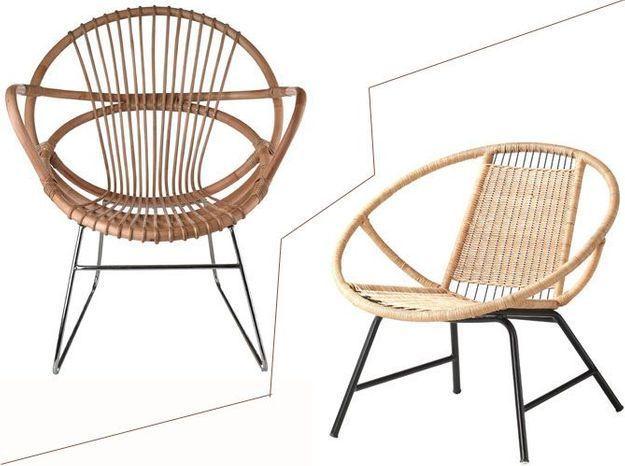2 budgets le fauteuil en rotin de pols potten versus celui de - Ikea Fauteuil