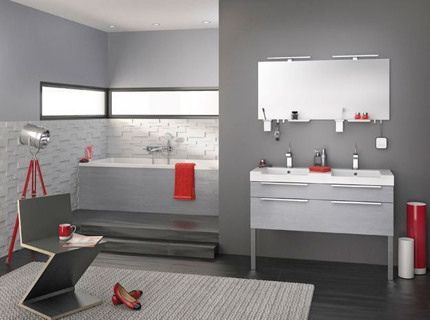 Une salle de bains design