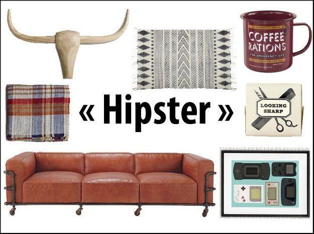 Soyez hipster dans votre intérieur