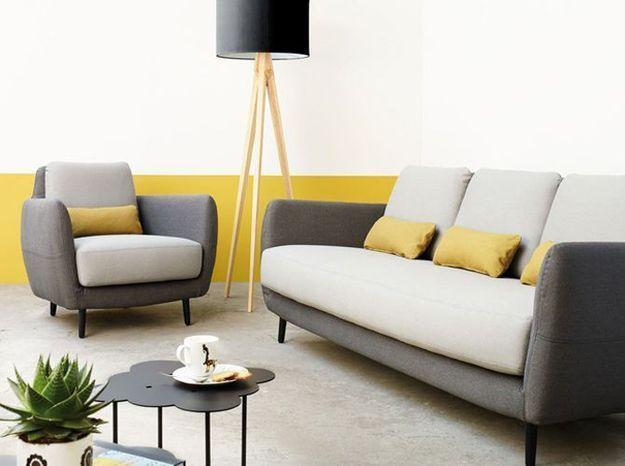 Le jaune moutarde sur un mur