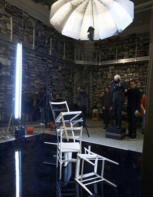 Karl Lagerfeld, photographe de design