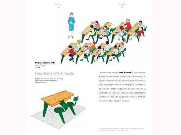 Histoire des chaises jean prouve