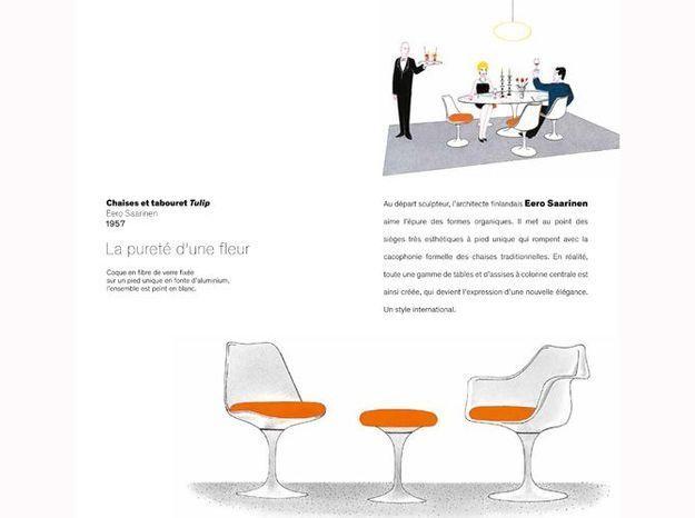 Livre histoire des chaises design