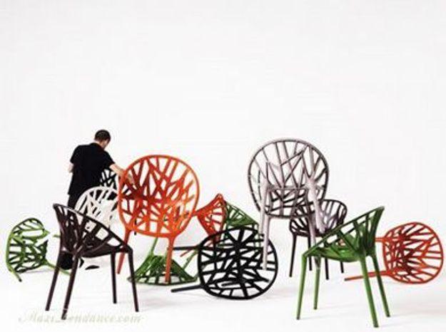 La chaise «Vegetal» des frères Bouroullec