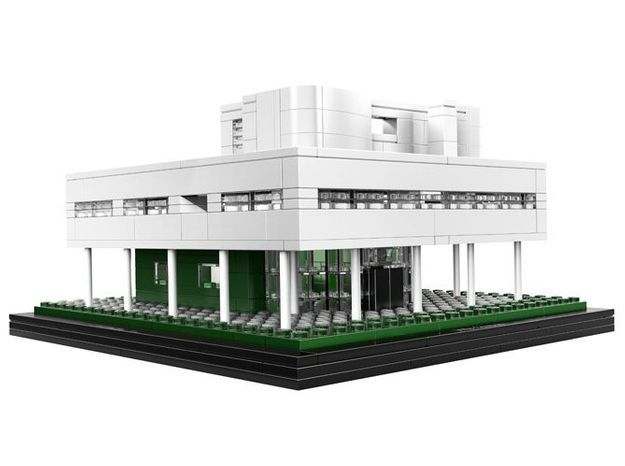 La Villa Savoye version Lego