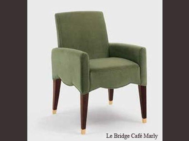"""Le Bridge """"Café Marly"""" par Olivier Gagnère"""