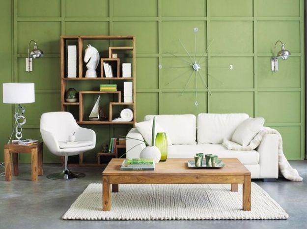 Maisonsdumonde mursvertspeinture