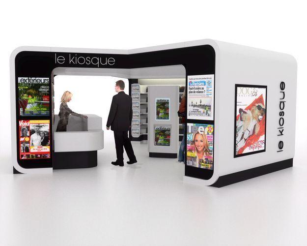 Les kiosques à journaux se modernisent !