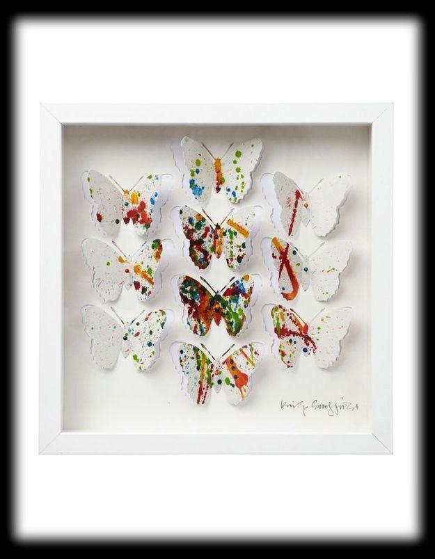 Cadre papillons Ikea