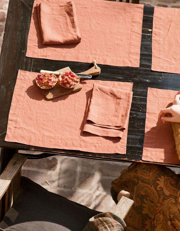 Set de table Vence, Clepsydre