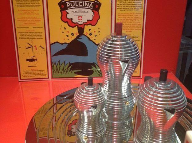 La cafetière rétro de Michele de Lucchi pour Alessi