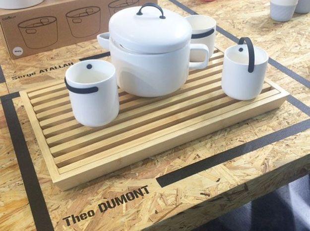 Le service à thé du futur de Cookut