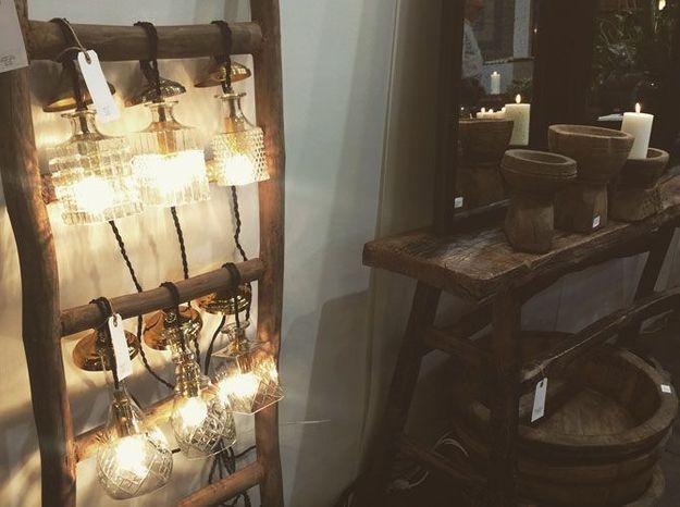 Les luminaires vintage de Snowdrops Copenhagen